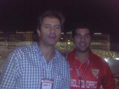 Con Manolo Lama