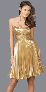 Trend Fashion Magazine: Gold Prom Dress