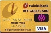 "Premio 2008 ""BFF GOLD CARD"""