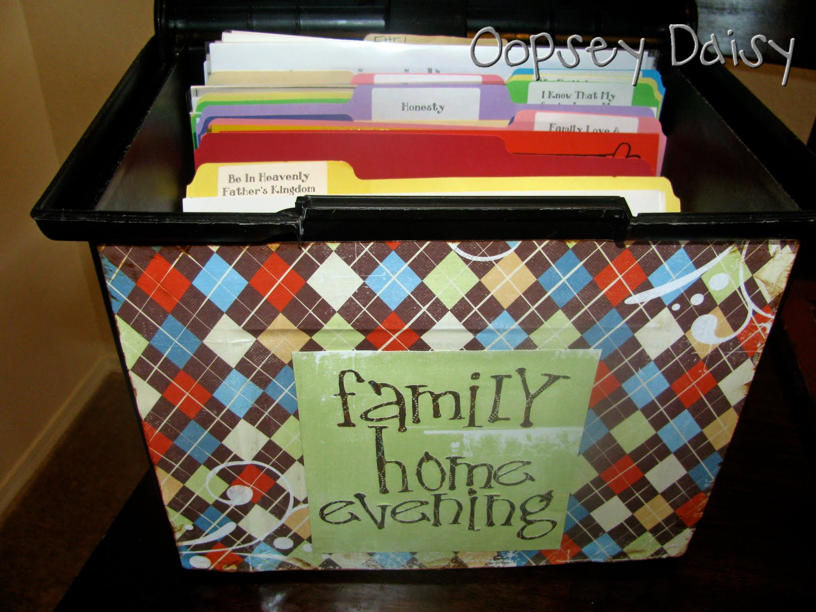 family home evening file organization oopsey daisy