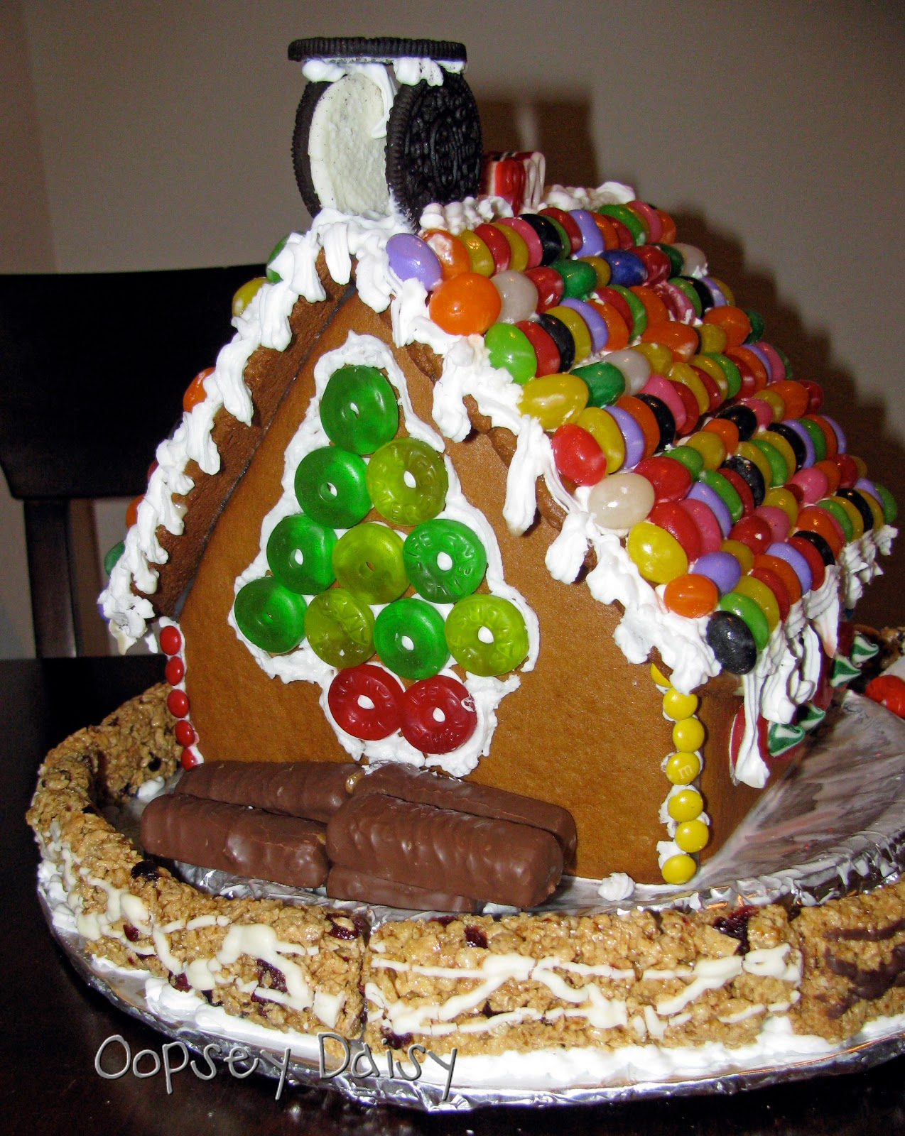 gingerbread houses  pattern and recipe