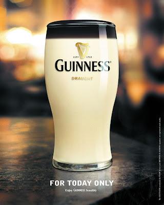 guinness april fool Guinness: April Fool. [Advertising] (pixelpasta)