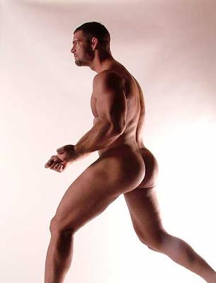 naked Derek russo