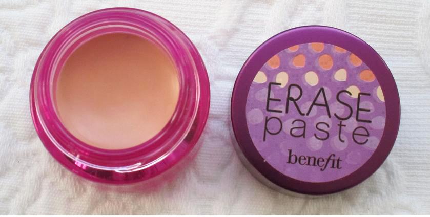 BEAUTIFUL CANVAS: Review Benefit Erase Paste Concealer