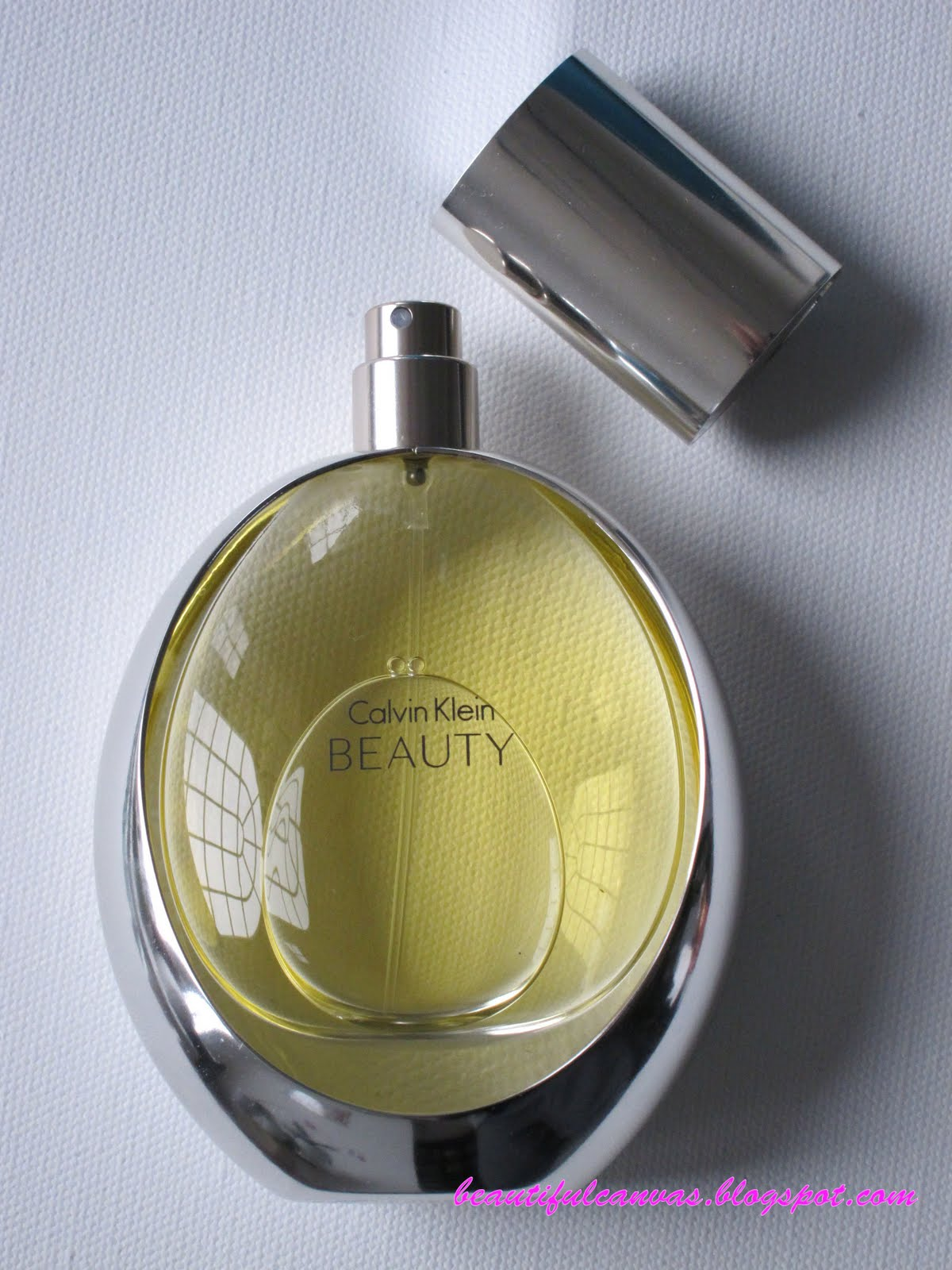 BEAUTIFUL CANVAS: Calvin Klein Beauty Fragrance Review