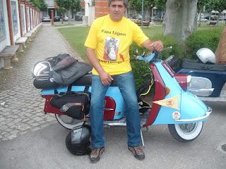 LaL 2010 com Scooters por companhia Passeiodosamigosdaheinkel2010033