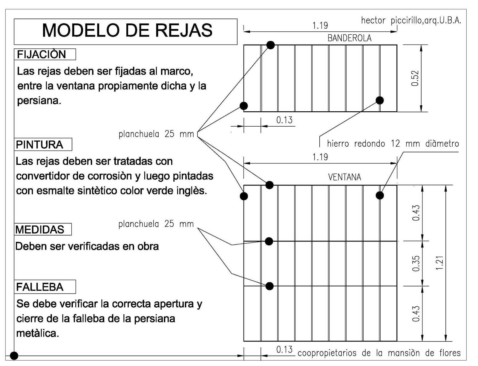 Frentes casas con rejas para proteccion fabrica com portal - Rejas para casas ...