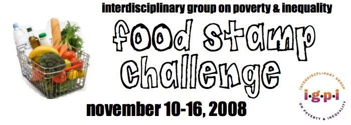 IGPI Food Stamp Challenge