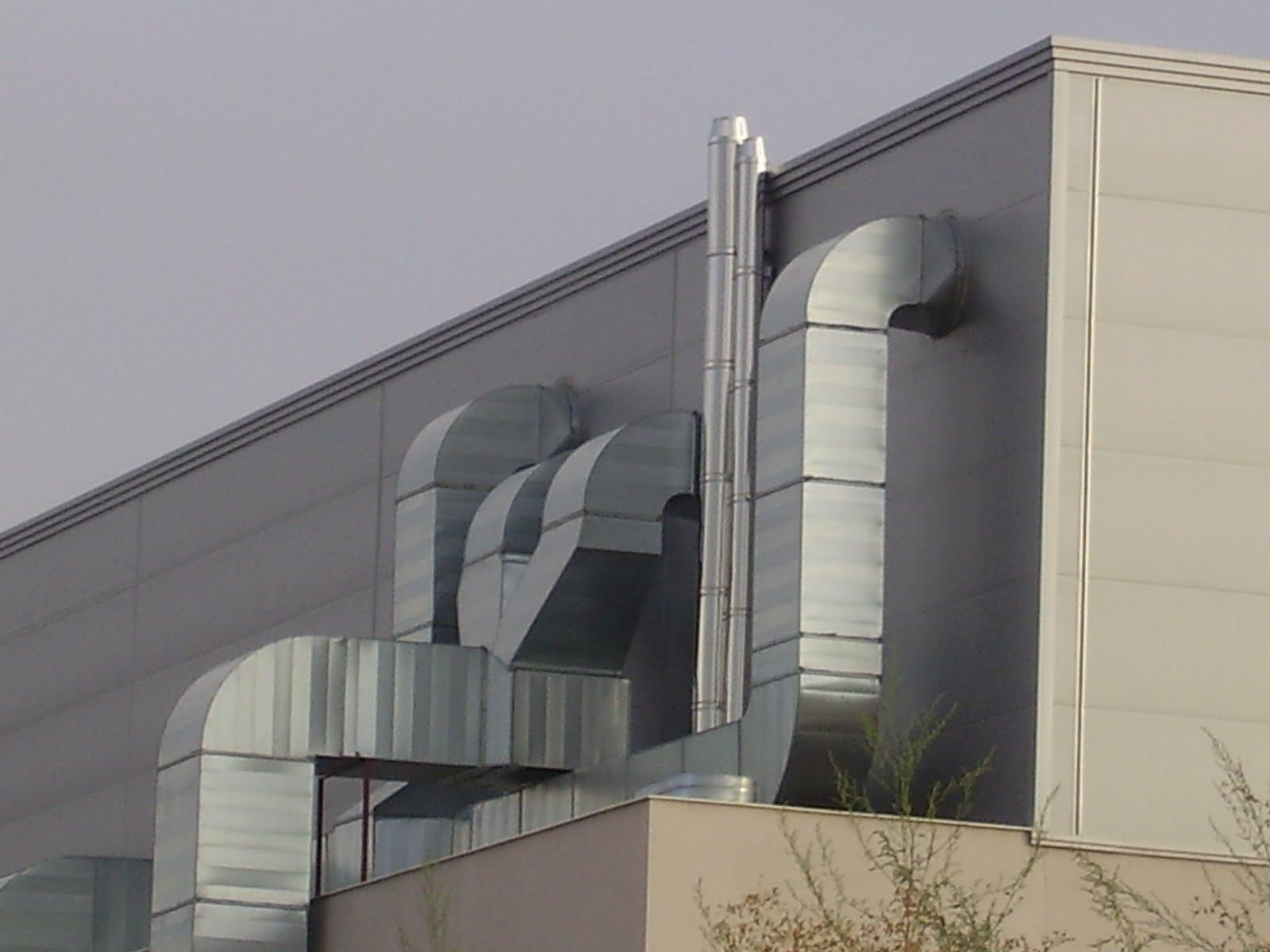 Conductos para salida de gases chimeneas tubos de acero for Salida aire acondicionado