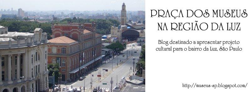 Praça dos Museus na região da Luz