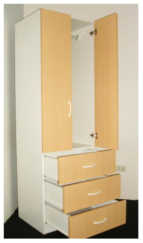 Muebles decoratiba adolfo ibarra v 10 13 10 for Closet melamina