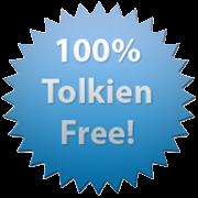 100% Tolkien free