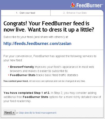 Feedburner-besleme-ismi
