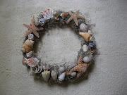 Corona marina hecha a mano