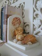 Sujetador de libros hecho a mano