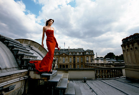 Carla Bruni's Modeling Days: A Look Back (PHOTOS)