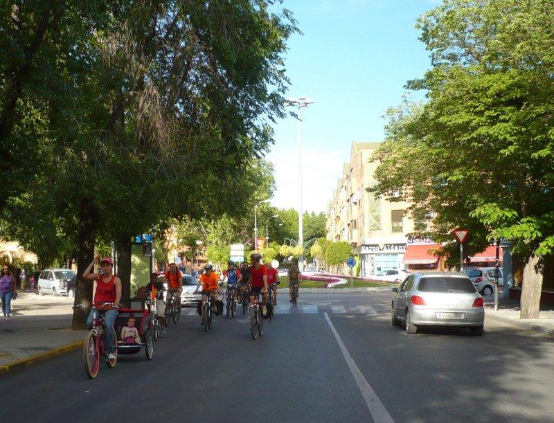 Niños en bici, sí
