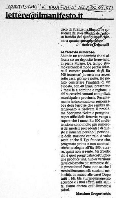 """lettera a """"il manifesto"""" (30/08/07)"""