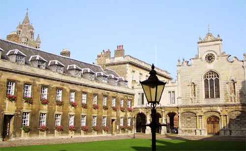 Eu queria estudar em Cambridge ou Harvard