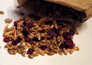 Candy Girl: Pumpkin Seed Dried Cranberry Trail Mix