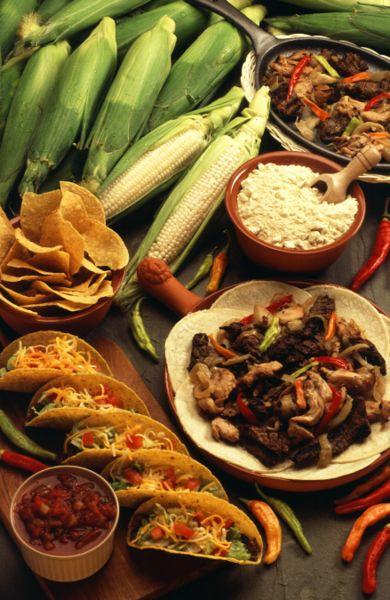 Taller de computo uso de tic s gui n del video comida for American regional cuisine history