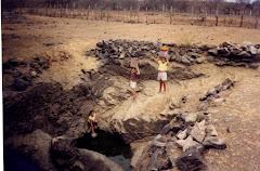 Água de caxio na caatinga
