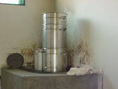 A suqueira para obtenção de suco de imbu