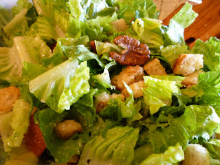 The Chef In My Head: Texas Caesar Salad with Homemade Croutons and ...