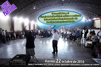 CONSULTA COMUNITARIA DE BUENA FE, SANTA CRUZ DEL QUICHÉ