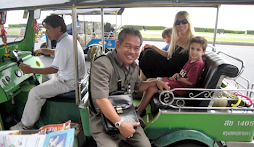 Tuk-Tuk with a new friend
