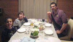 Seder in Sendai