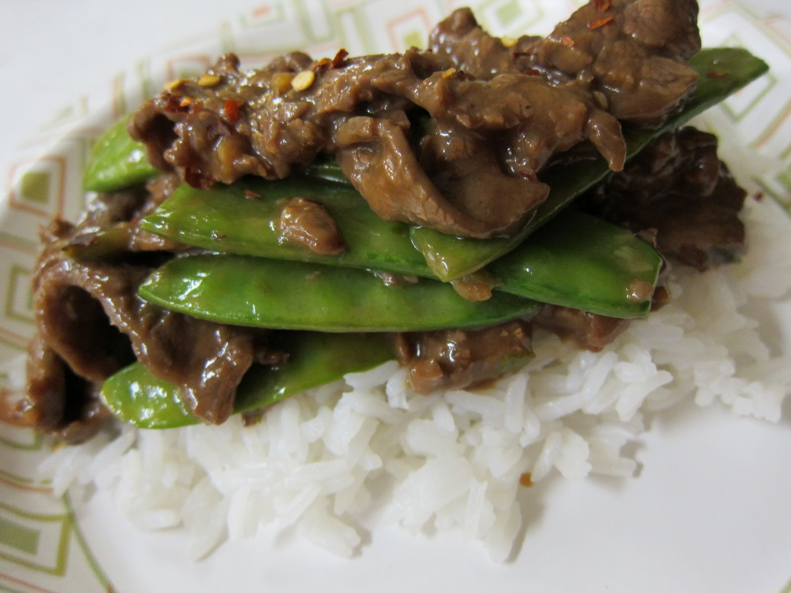RECIPEAHOLIC: Beef with Snow Peas