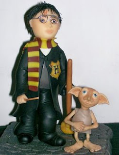 Adorno para torta Harry Potter