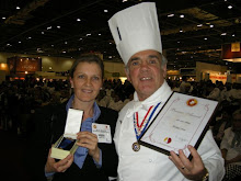 Bronze Award for the Pastillage Mask 2008 Hotelympia