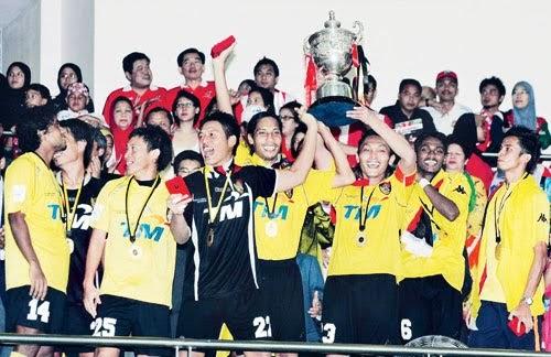 PUSAT SUMBER URESS: Negeri Sembilan Juara Piala Malaysia