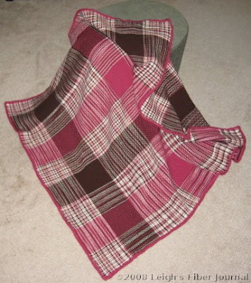 Leigh's space dyed blankie