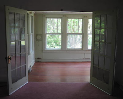 This is the room which will become my weaving studio