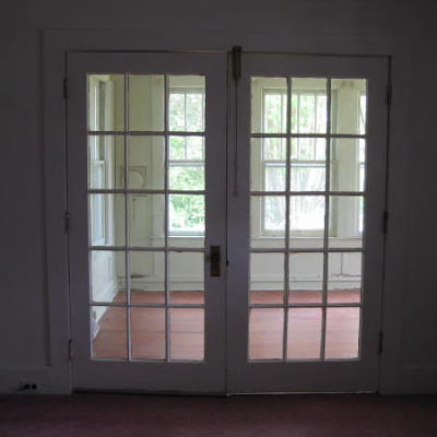 This house has lots of French doors