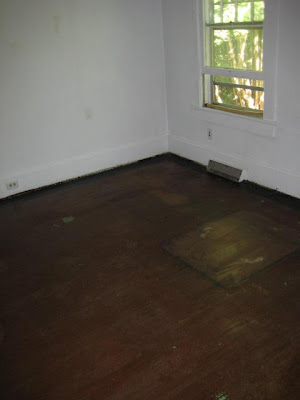 Dining room floor, before