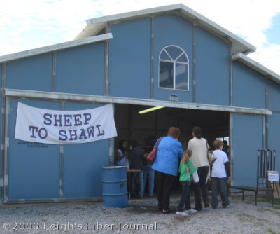 The Blue Barn at the WNC Ag Center