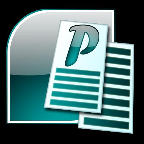 Microsoft Publisher 2007 Logo