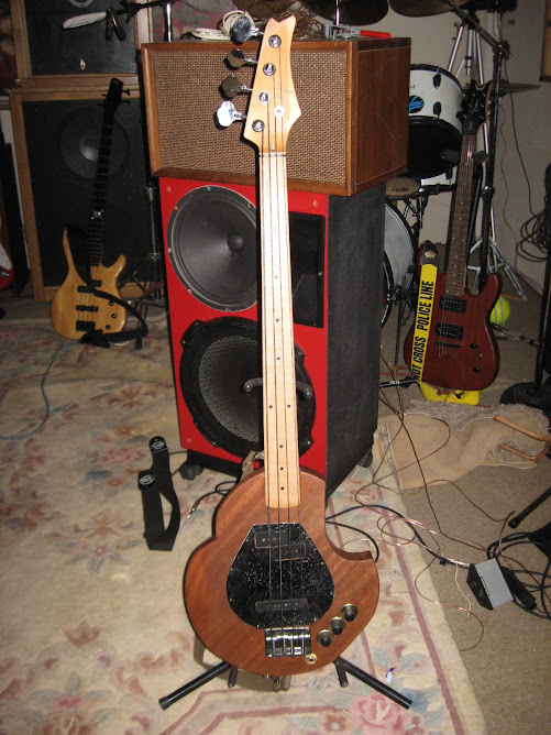 The First  G -Bass  Mahogany