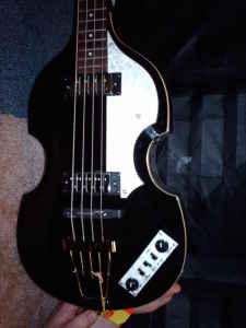 Ever See A Black Hofner Beatle Bass