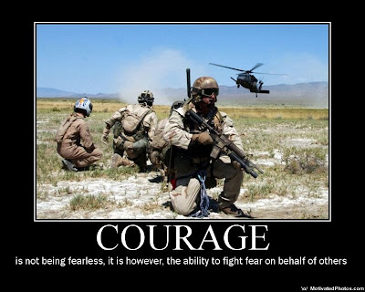 army values essay personal courage