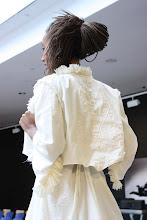Chaqueta algodón bordado
