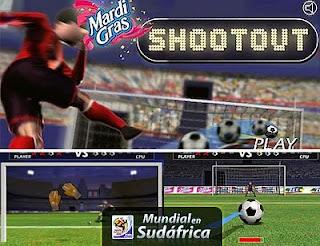 Juego Mundial de Futbol 2010 Penales