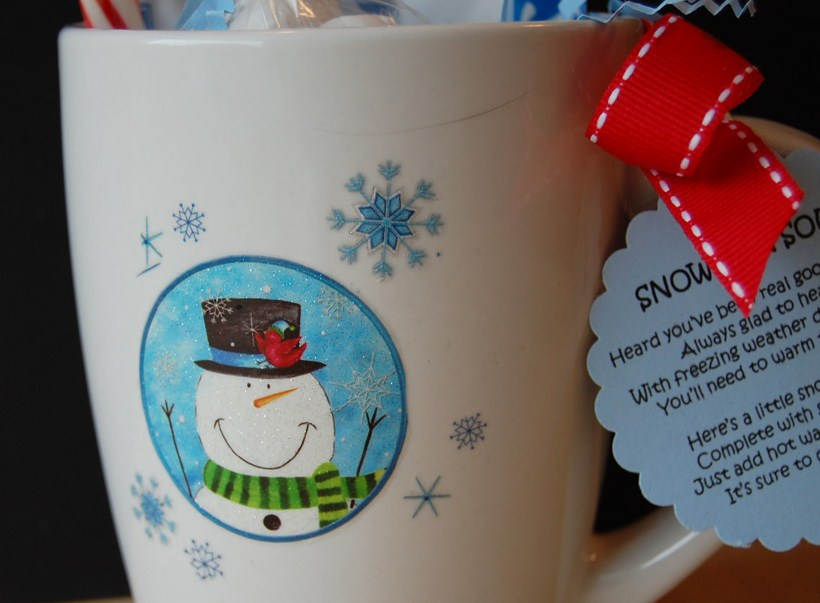 Snowman soup recipe 1 inidual packet hot chocolate mix 2 3
