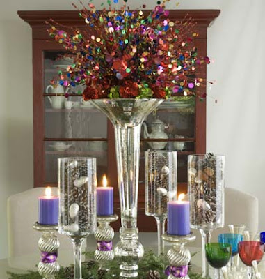 Our creative life new year 39 s centerpieces - New year table decorations ...
