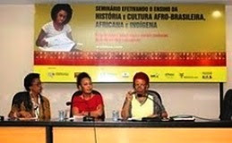 Seminário: Efetivando o Ensino da História e Cultura Afrobrasileira, Africana e Indígena(maio 2010)