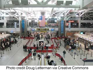 JFK Terminal #1 by Doug Letterman